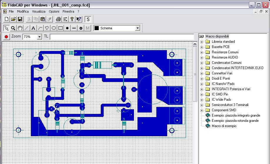 Software circuiti stampati