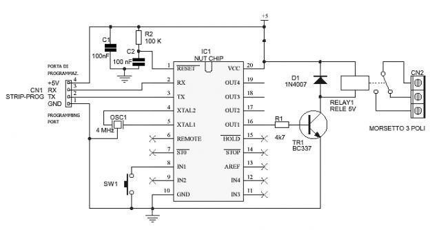 Schema Elettrico Timer Per Bromografo : Hardware tweakers leggi argomento timer per bromografo